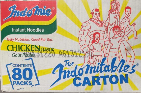 Indomine Instant Noodles – Chicken, 40pks