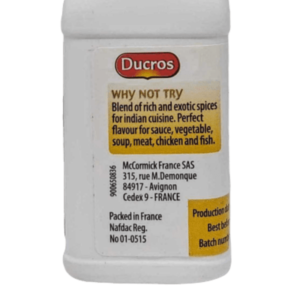 Ducros Curry 1
