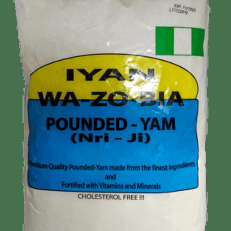 Iyan Wazobia (Pounded Yam) 2