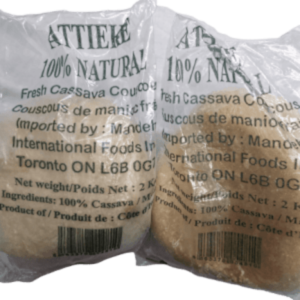 Attieke (Cassava Couscous) 1
