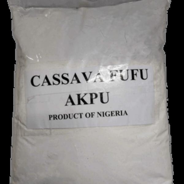 Cassava Fufu (Akpu)